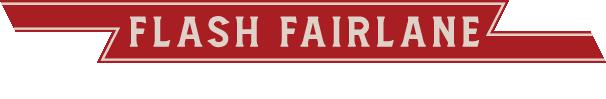 Flash Fairlane text logo 1