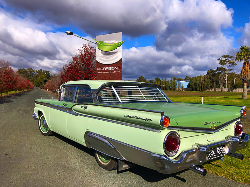 classic car winery tours